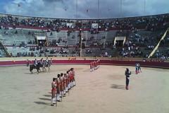 Triunfo de João Telles Jr. e do Forcados de Moura na 1ª da Feira Taurina de Santarém.