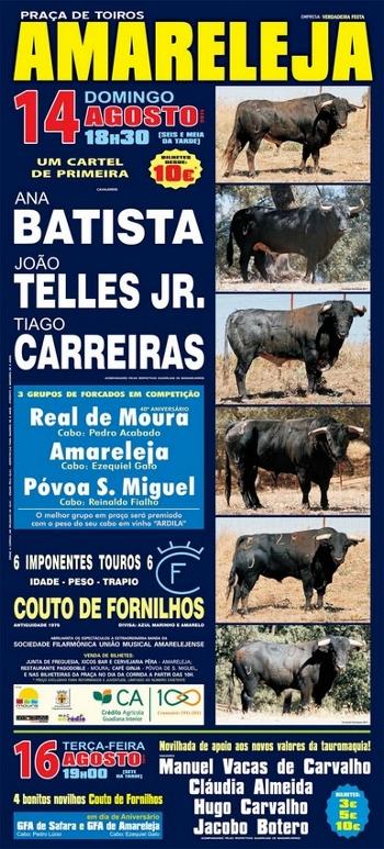 João Telles jr. Triunfa em Amareleja