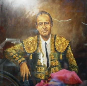 Don Juan Carlos de Borbón y Borbón e os toiros