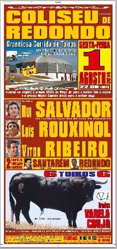 Rouxinol e Amadores de Santarém vencem prémios no Coliseu de Redondo