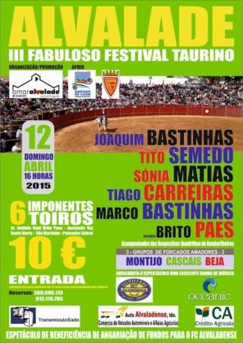III Festival Taurino de Alvalade
