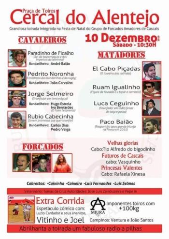Festa de Natal do GFA Cascais