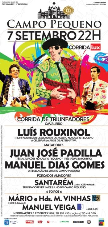 Intensa agenda de Juan José Padilla antes de se apresentar em Lisboa