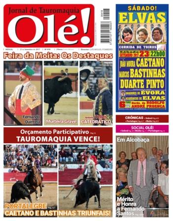 Semanário Ole nº418, amanhã nas bancas
