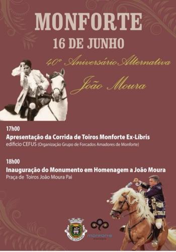 Monforte Homenageia o Maestro João Moura
