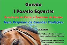 I Passeio Equestre em Garvão
