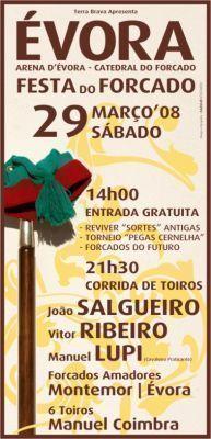 Festa do Forcado na Arena D'Évora é já no Sábado!