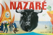 Corrida à Portuguesa na Nazaré
