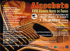 XVIII Grande Noite de Fados, a favor do Grupo de Alcochete.