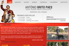 Novo website do cavaleiro António Brito Paes