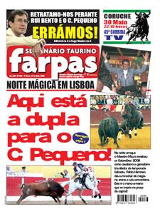 Farpas, edição 486 amanhã, 14 de Maio 2009