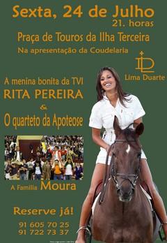 Mouras e Rita Pereira na Ilha Terceira