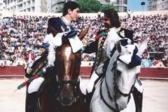 Cavaleiro Rui Santos comemora 8 anos de alternativa.