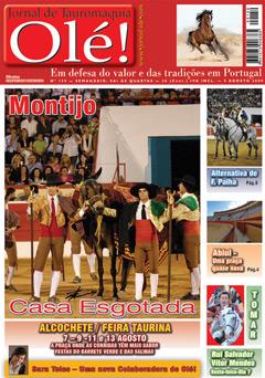 158 Edição - Destaque para a alternativa de Francisco Palha no Montijo