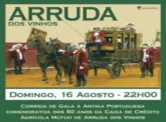 Vá hoje a Arruda dos Vinhos à Corrida de Gala à Portuguesa!