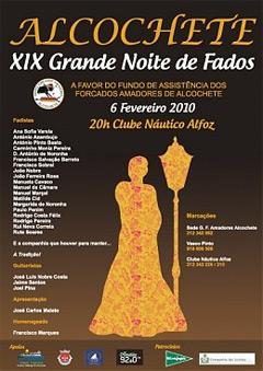 XVIII Grande Noite de Fados, a favor do fundo de assistência do G.F.A.A.
