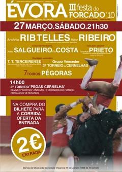 Novos preços em Évora para a Festa do Forcado