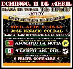 Aposento da Moita a 11 de Abril no México