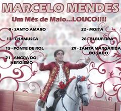 Marcelo Mendes com o Maio preenchido