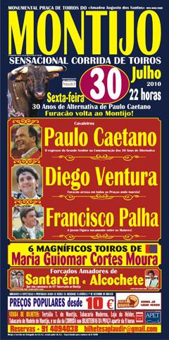 30 Anos de Alternativa de Paulo Caetano no Montijo