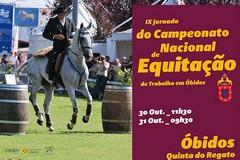 Óbidos acolhe a IX Jornada do Campeonato Nacional de Equitação de Trabalho