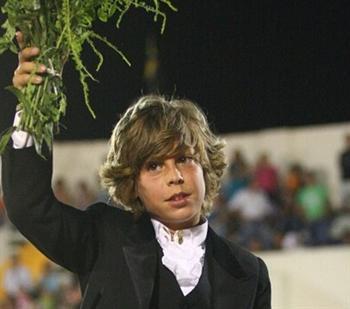 António Prates na Academia de Toureio do Campo Pequeno