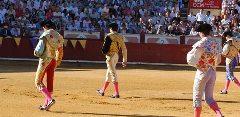 Quarto evento taurino das Fallas em Valencia