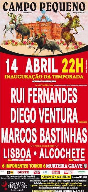 Bilhetes já estão hà venda para a Inaguração da Temporada em Lisboa