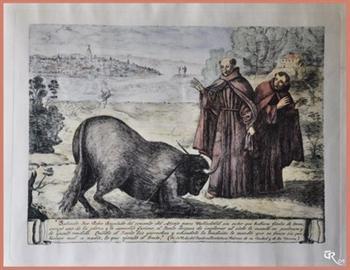 São Pedro Regalado, padroeiro dos toureiros.