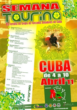 Já começou a Semana Taurina em Cuba