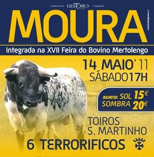 Toiros S. Martinho criam expetativa para Moura