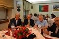 Óscar Rosmano homenageado ontem na Mexicana