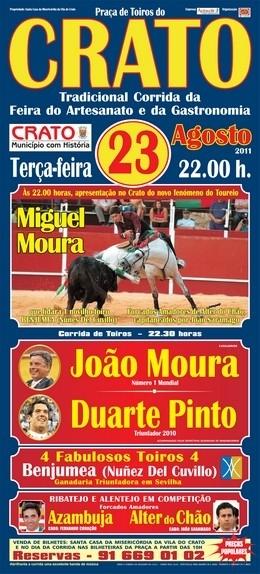 Clã Moura e Duarte Pinto hoje no Crato