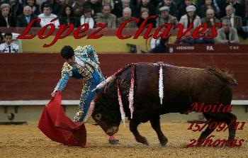 López Chaves substitui amanhã Ivan Fandiño na Moita