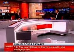 Miguel Sousa Tavares comenta fim das touradas na Catalunha