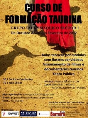 SECTOR 1 promove Curso de Formação Taurina