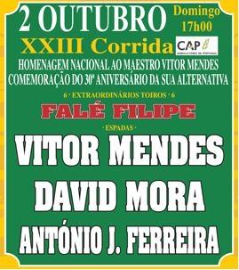 Vila Franca - Segunda da Feira Taurina de Aniversário dos 110 anos da Palha Blanco