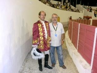 Rui Taveira em 2012 com Manuel Comba