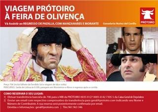 PRÓTOIRO organiza viagem a Olivença