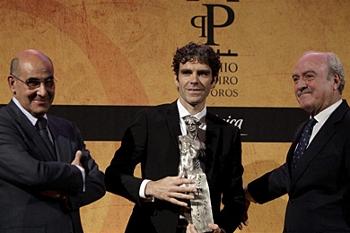José Tomás recebe prémio