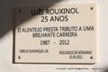 Comemoração dos 25 anos de Alternativa de Luís Rouxinol