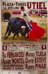 Feira Taurina na localidade de Utiel - Espanha