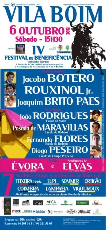 IV Festival de Beneficência de Vila Boim