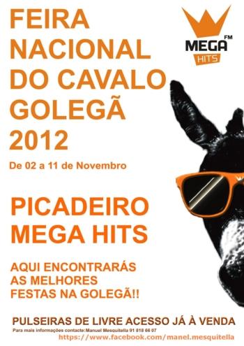 Onda de Solidariedade com Nuno Carvalho na Feira da Golegã 2012