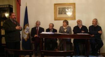 Homenagem ao Mestre António Araújo na Inauguração da Exposição de Ex-Líbris