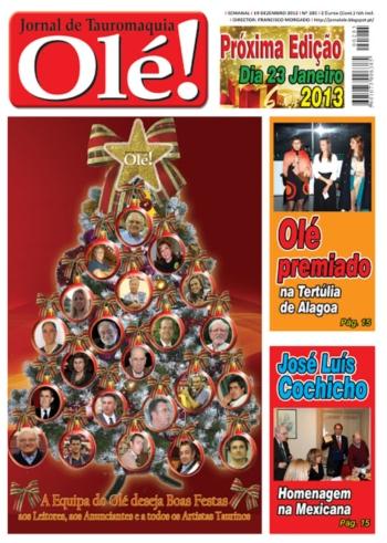 Olé Jornal de Tauromaquia Nº 285