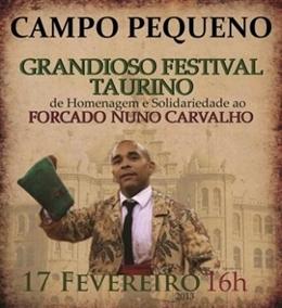Ganadarias para o Festival de Homenagem e Solidariedade ao forcado Nuno Carvalho