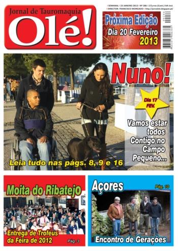 Olé Jornal de Tauromaquia Nº 286