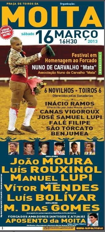 Bilhetes para o Festival de Nuno Carvalho na Moita já estão disponíveis
