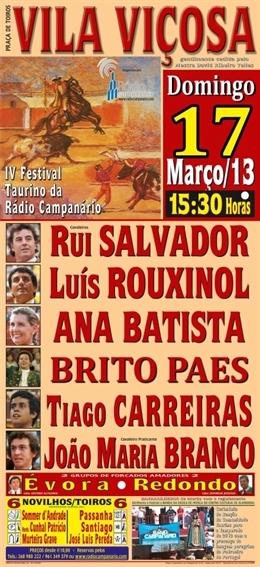 Bilhetes à venda para o Festival de Vila Viçosa